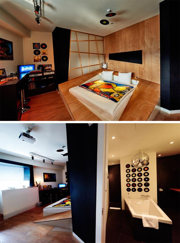 9 Designer haben je ein Zimmer in diesem Hotel erstellt volkshotel-amsterdam_06