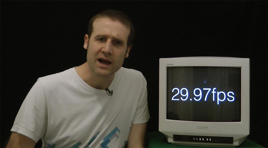 Deshalb gibt es die Video-Framerate 29,97 2997-frames