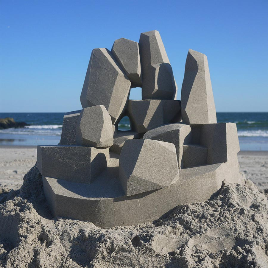 Moderne Sandburg-Architektur Calvin-Seibert-Sandcastles_03