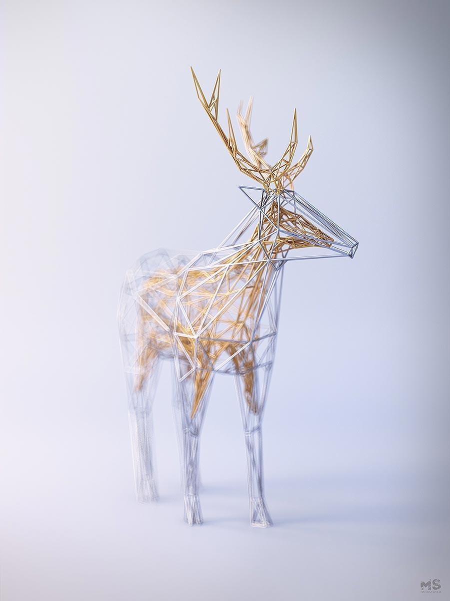 Drahtige Tiere Mat-Szulik-wires_02