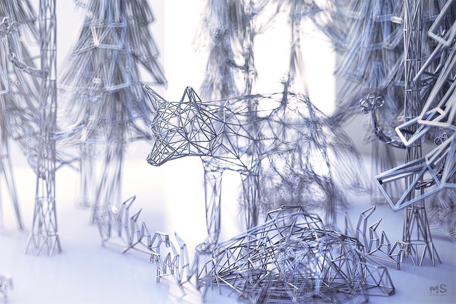 Drahtige Tiere Mat-Szulik-wires_03