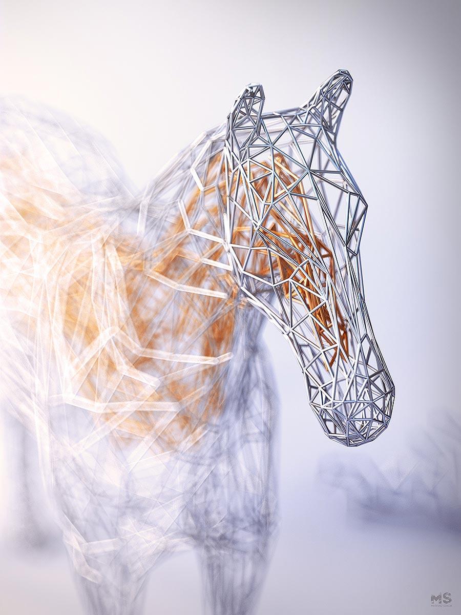 Drahtige Tiere Mat-Szulik-wires_06