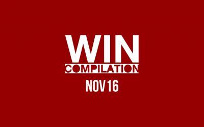 WIN Compilation November 2016
