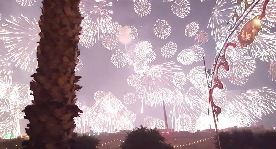Das größte Feuerwerk der Welt