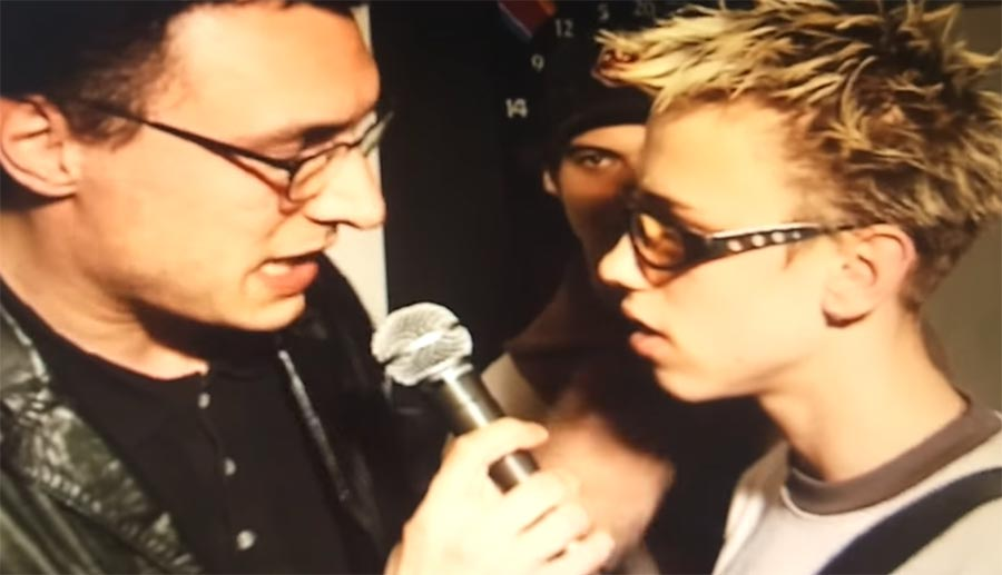 Video-Interview mit Clueso aus 1998