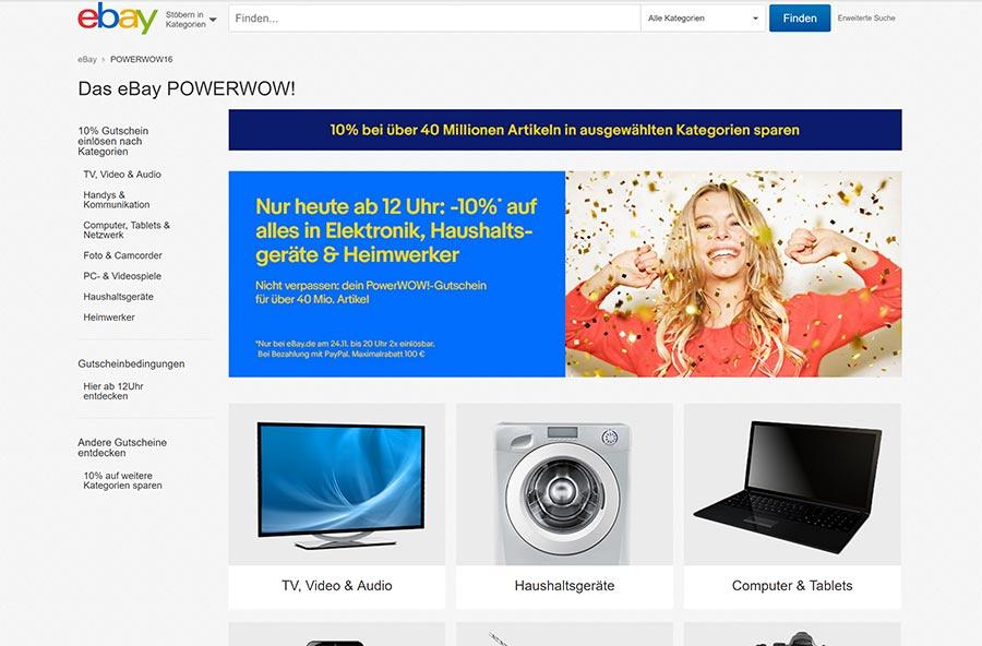 Nur heute: 10% beim eBay PowerWOW! eBay-powerWOW-screen