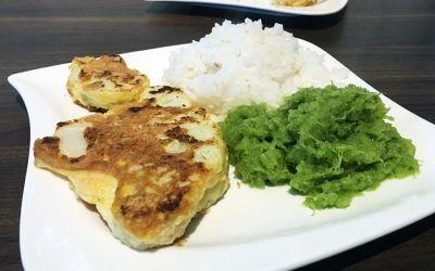 Ein-Minuten-Menü: Blumenkohl-Schnitzel
