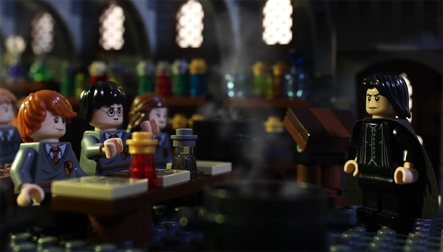 Harry Potter in 90 Sekunden LEGO