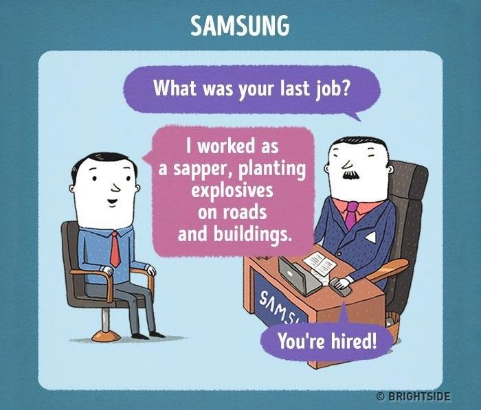 Wie Vorstellungsgespräche bei Weltmarken ablaufen job-interviews-leonid-khan_08