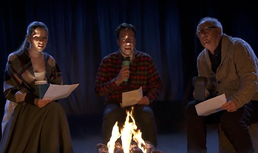 Von Grundschülern geschriebene Gruselgeschichten kids-campfire-ghost-stories