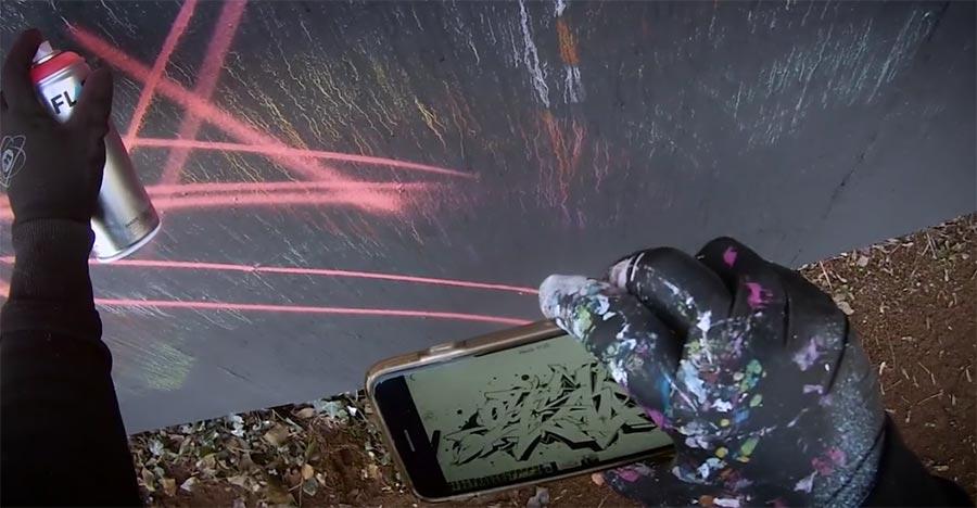 Graffiti-Sprühen mit Omsk167 lines-26-omsk167