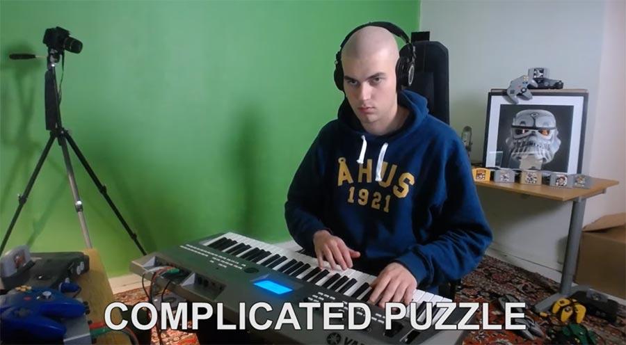 Videospielmusik durchgespielt music-genre-video-game