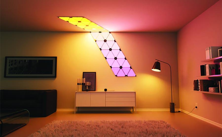 Steuerbare Licht-Dreiecke