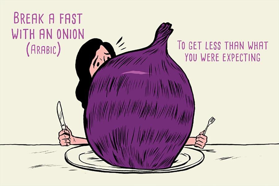 Kuriose Sprichwörter aus aller Welt paul-blow-11-idioms_04