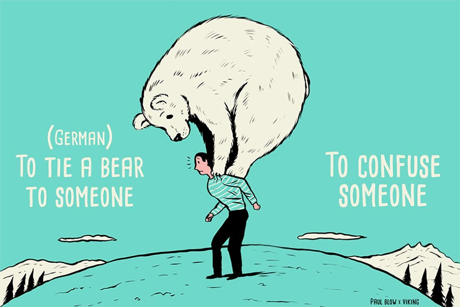 Kuriose Sprichwörter aus aller Welt paul-blow-11-idioms_11