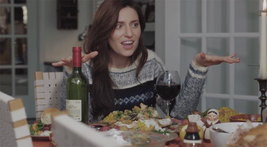 Selfsgiving ist wie Thanksgiving, nur alleine