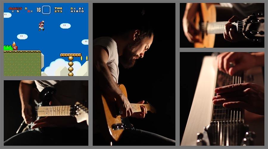 samuraiguitarist spielt Super Mario World-Soundtrack super-mario-world-soundtrack-cover