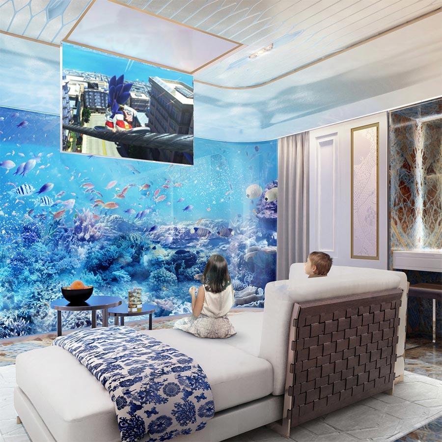 Luxus-Hausboot mit Korallenriff-Blick the-floating-seahorse_04