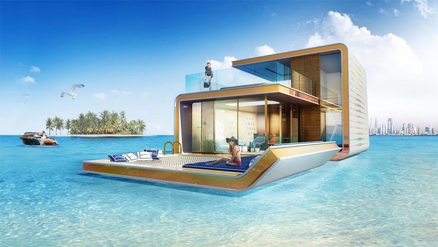 Luxus-Hausboot mit Korallenriff-Blick the-floating-seahorse_05