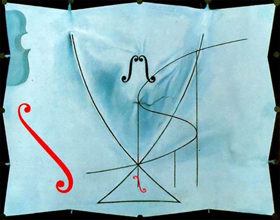 Die letzten Werke berühmter Maler 03_Salvador-Dali-The-Swallows-Tail-1983