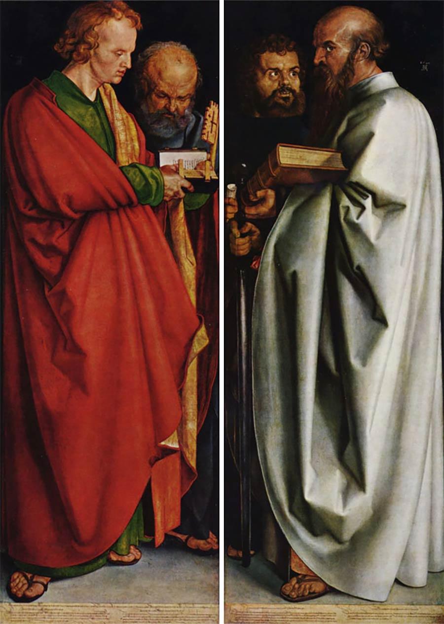 Die letzten Werke berühmter Maler 08_Albrecht-Dürer-The-Four-Apostles-1526
