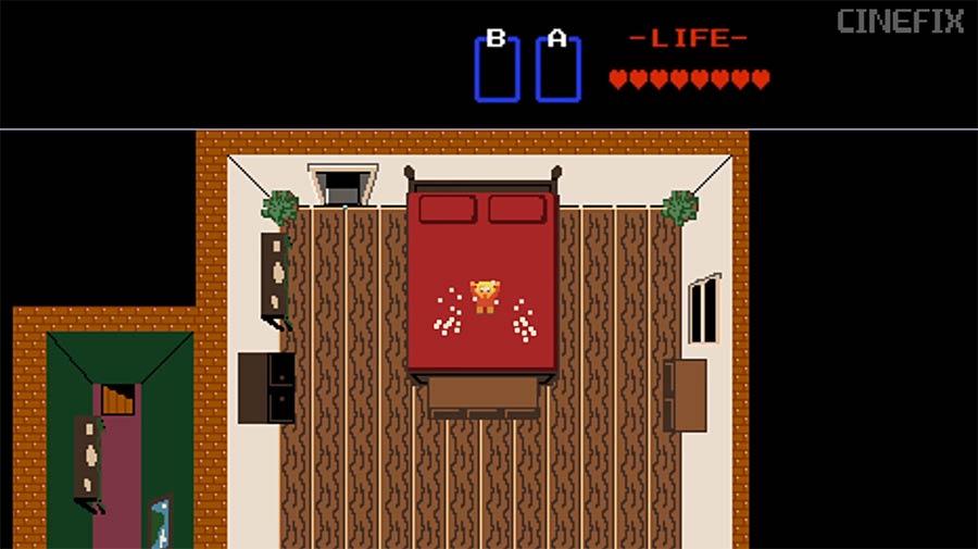 8-Bit Kevin Allein zu Haus