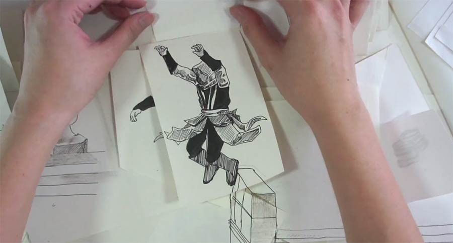 Assassin's Creed Paper Parkour Assassins-creed-paper-parkour