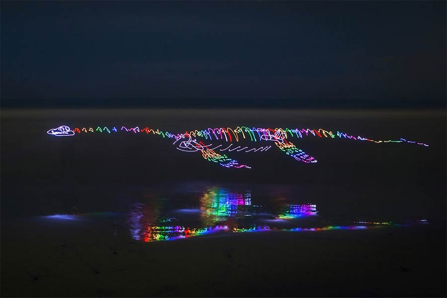 Neue Light Paintings von Darren Pearson