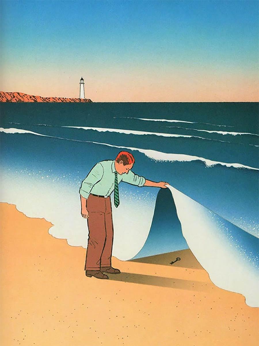 Illustration: Guy Billout