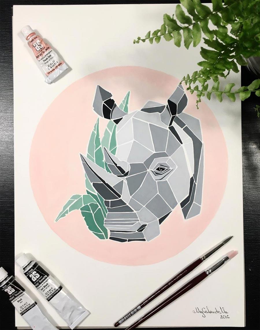 Polygone Tiere Mariia-Zhigalov_04