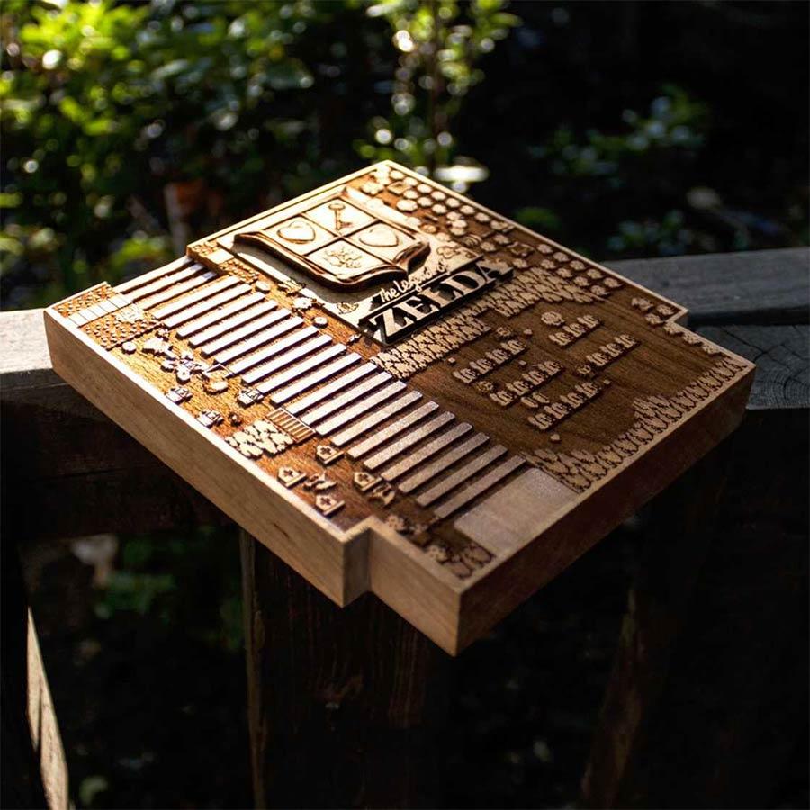 Coole Holz-Laser-Gravur-Kunst Spitfirelabs_wooden-retro_03