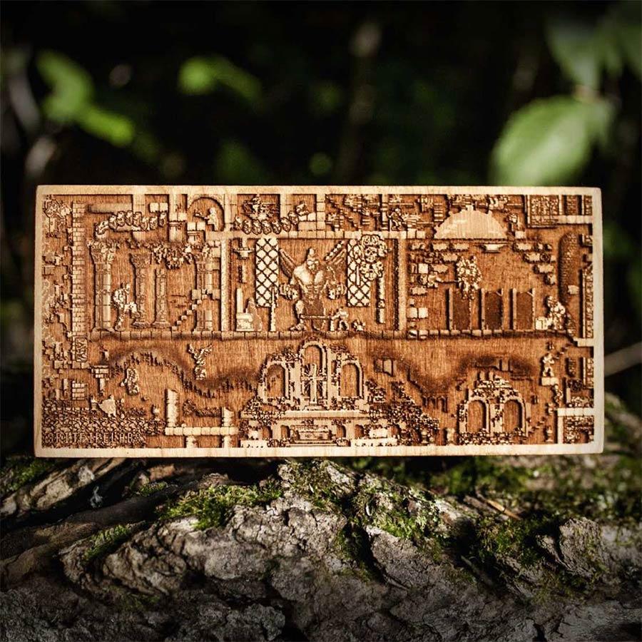Coole Holz-Laser-Gravur-Kunst Spitfirelabs_wooden-retro_06