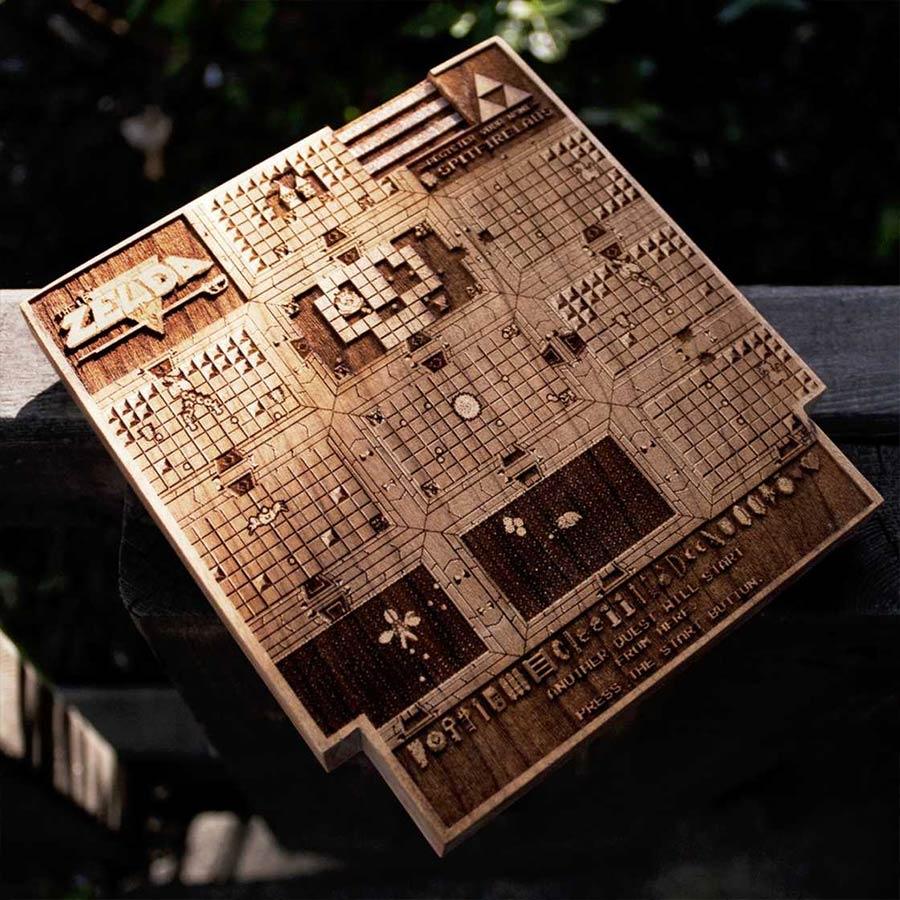 Coole Holz-Laser-Gravur-Kunst Spitfirelabs_wooden-retro_09