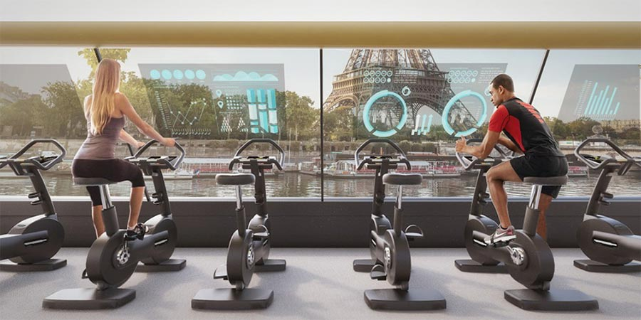 Auf dem Tretboot-Fitnesscenter durch Paris The-Paris-Navigating-Gym_02