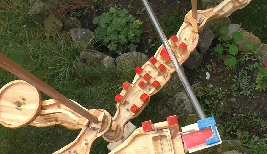 Geniale Murmelbahn aus Holz geniale-murmelbahn-aus-holz