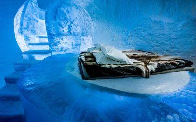 Das erste Ganzjahres-Eishotel
