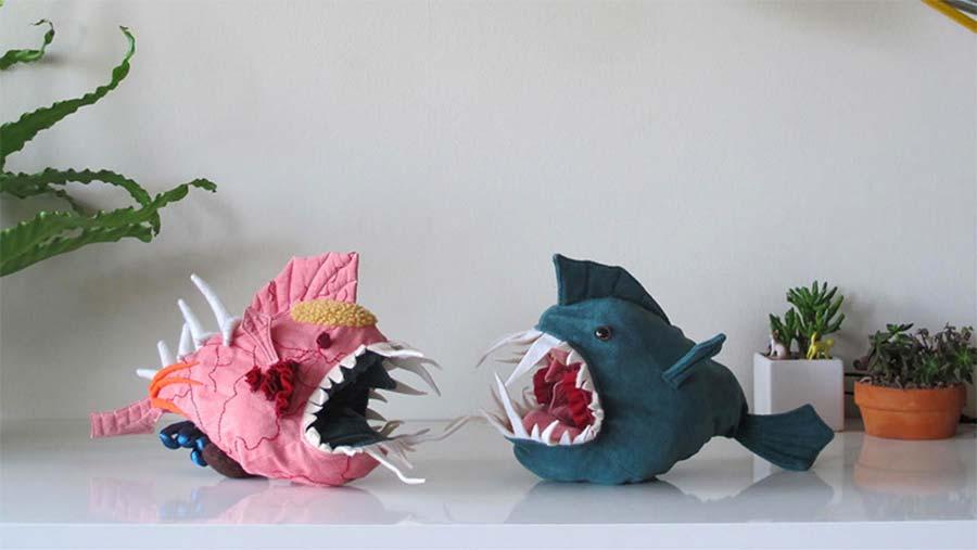 Diesen Anatomie-Lernfisch kannst du auf Links drehen