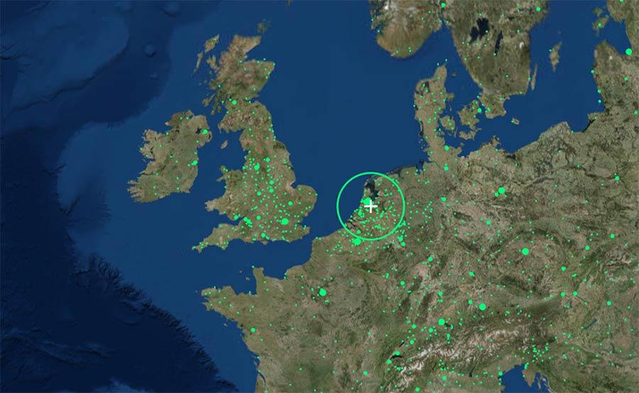 Hier kannst du jeden Radiostream der Welt hören radio-garden