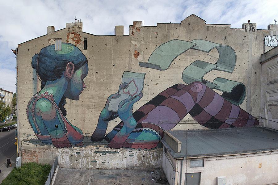 Street Art: Aryz street-art-aryz_01