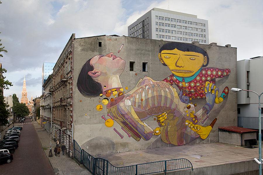Street Art: Aryz street-art-aryz_04