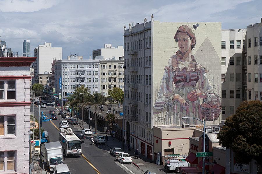 Street Art: Aryz street-art-aryz_05