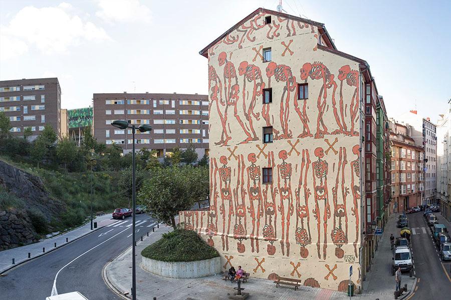Street Art: Aryz street-art-aryz_09