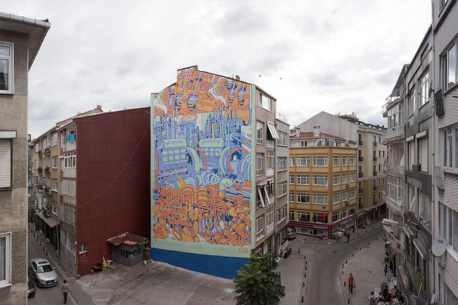 Street Art: Aryz street-art-aryz_11
