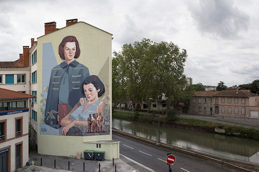 Street Art: Aryz street-art-aryz_12