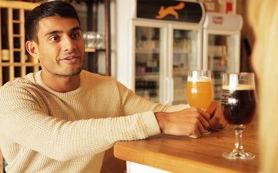 Der Mann, der Bier zu sehr mag