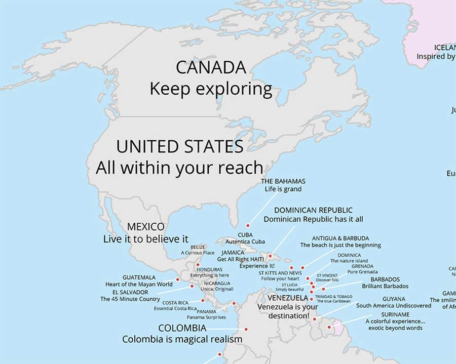 Tourismus-Slogans aller Länder auf einer Karte tourismus-claims-aus-aller-welt_02