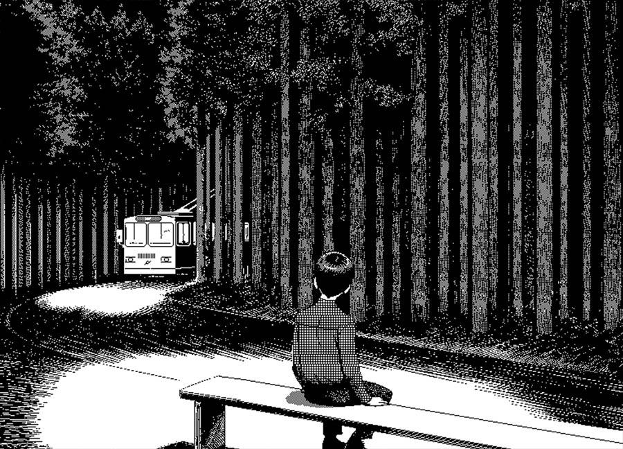 Schwarz-Weiß-Pixelkunst von Uno Moralez uno-moralez_06