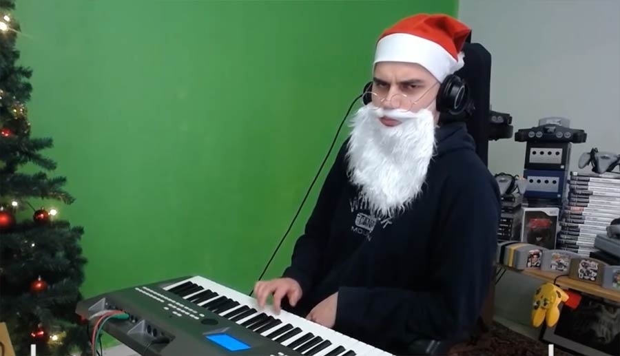 video game christmas music