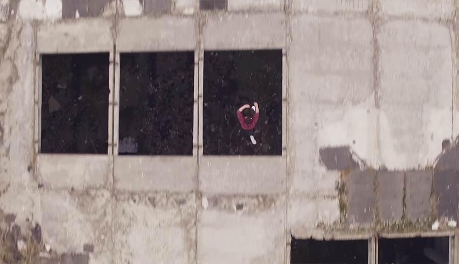 Parkour aus der Vogelperspektive 2D-RUN
