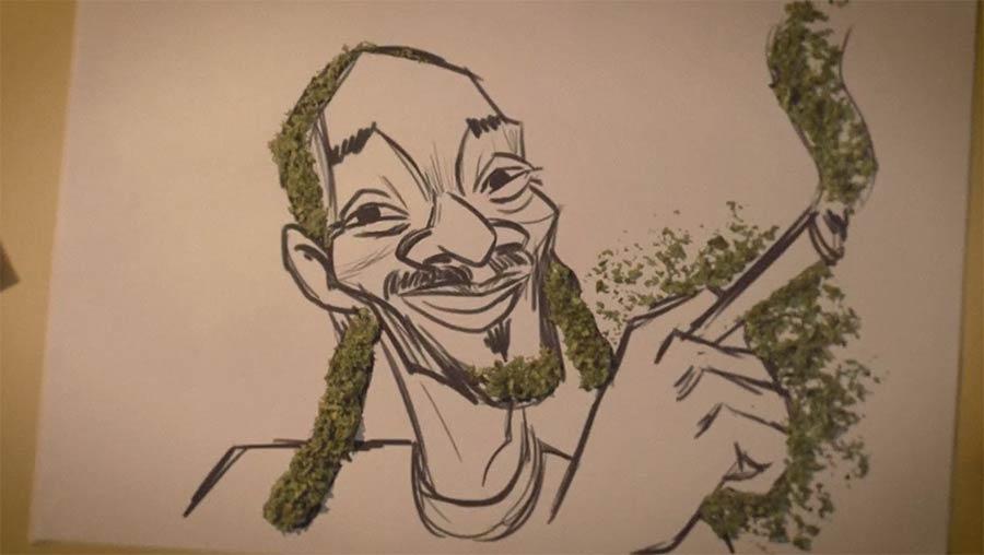 Marihuana-Stopmotion-Musikvideo Hadag-Nahash-Infected-Mushroom-LEGAL-EYES